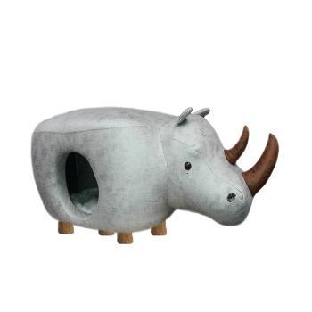 Rascador con banquillo  Diseño Rinoceronte