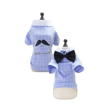 Camisa con lineas blancas y corbatin varonil