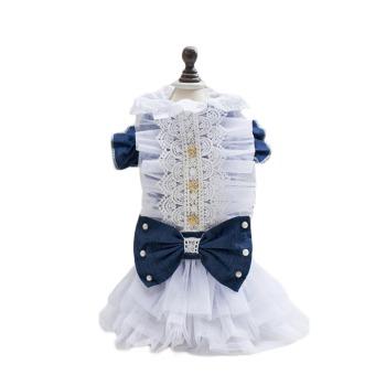 Vestido con mezclilla y Campana de Estilo Princesa