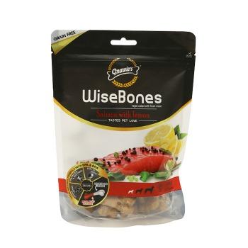 Snack Medium Wisebone Salmon con Limon