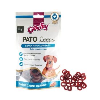 Goofy Snack Hipoalergénico Pato Loops