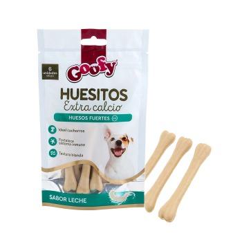 Goofy Huesitos Extra Calcio Para Cachorros