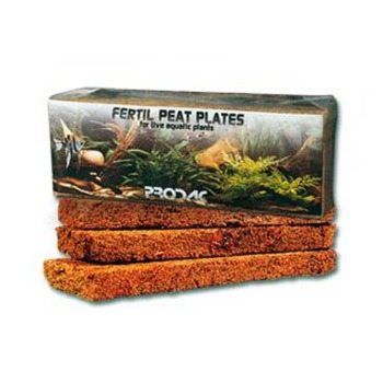 Prodac Fertil Peat Plates 3 Unidades Para Acuarios