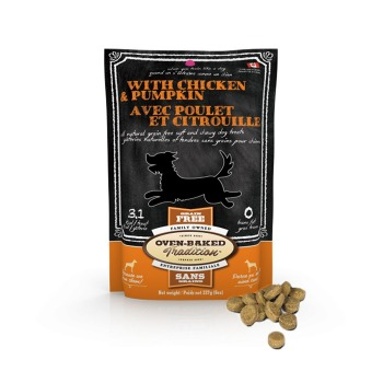 Oven Baked Dog Treat Chicken And Pumkin