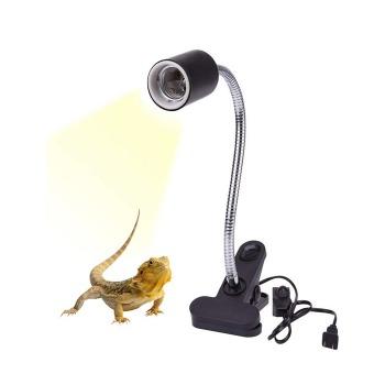 Porta Lámparas Largo Con Clip Para Reptiles