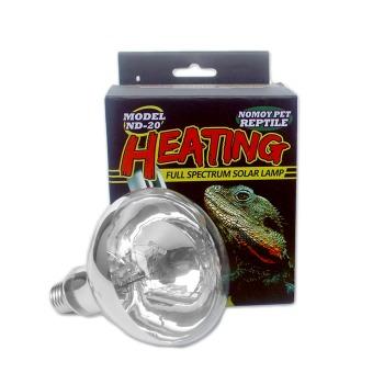 Lampara Solar para Reptil