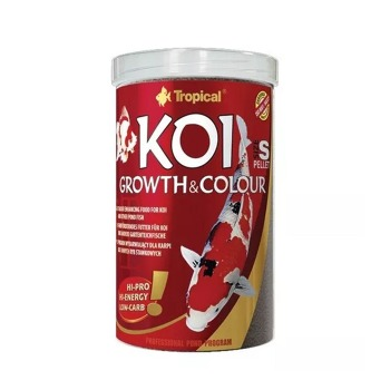Tropical Koi Growth Color Pellet S