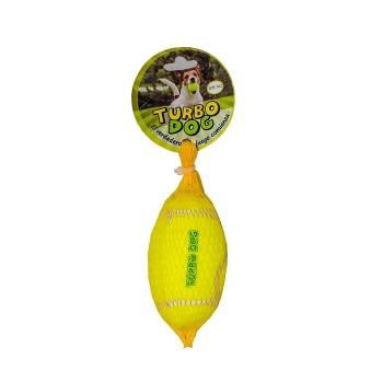 Juguete Caucho Y Fieltro Balon Con Sonido