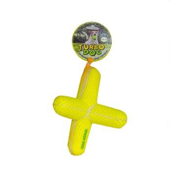 Juguete Caucho Y Fieltro  «X» 15 cm con sonido