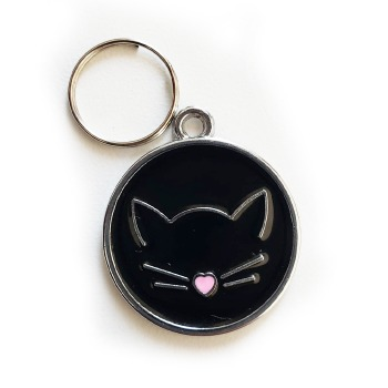 Placa Identificativa De Gato Para Grabado