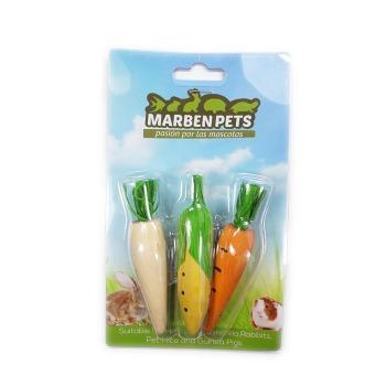 Maderas Vegetales Para Roer Display X3