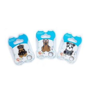 Plaquita De Identificación Para Mascotas Con Tecnología Qr