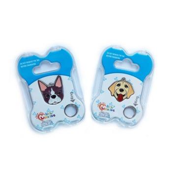 Placa de Identificación de Mascotas con Grabado