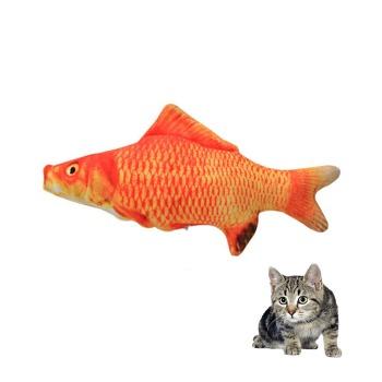Pez Peluche Goldfish Con Catnip