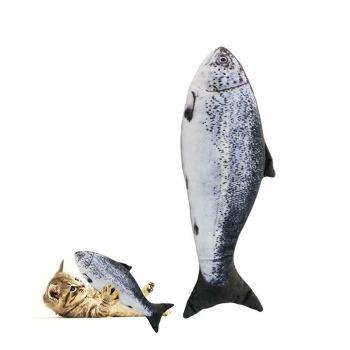 Pez Peluche Salmon Con Catnip