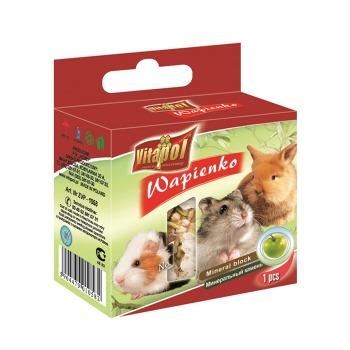 Cubo Mineral de Manzana y Lima para conejos y Roedores