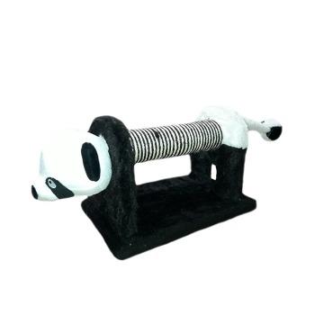 Rascador de Madera Resistente En Forma de Oso Panda
