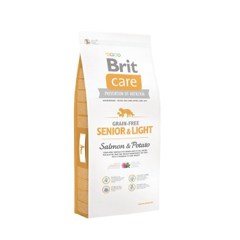 Brit Care Senior & Light All Breed Salmon