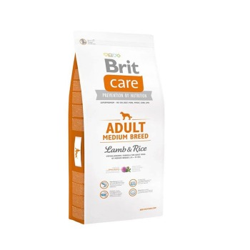 Brit Care Adult Medium Breed Cordero