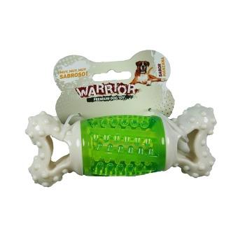 Juguete Warrior Hueso Sonido Saborizado
