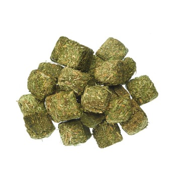 Cubos de alfalfa fresco 100% nutritivo