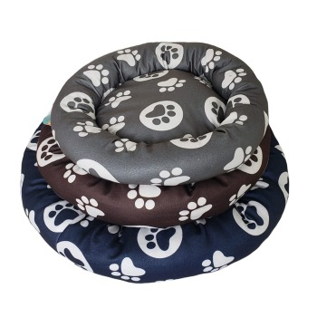 Cama circular diseños patitas