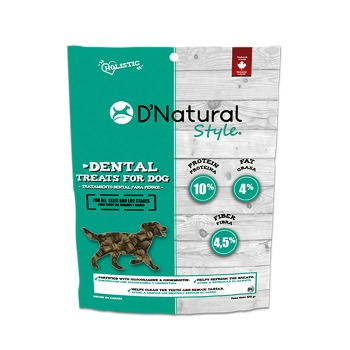 Dog Treats D'Natural Style Dental Treats