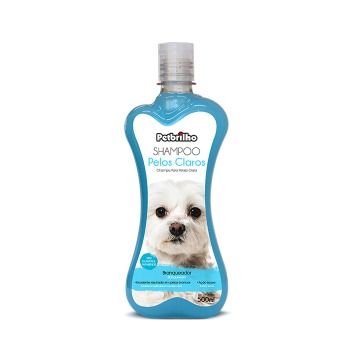 Shampoo para Pelos Claros