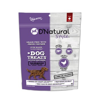 Dog Treats D'Natural Style Grain Free Chicken