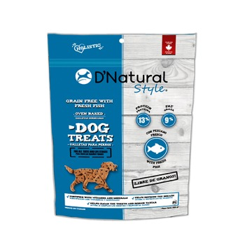 Dog Treats D'Natural Style Grain Free Fish