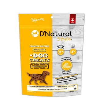 Dog Treats D'Natural Style Peanut Butter