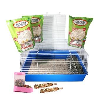 Kit Extra Grande Para Conejos y Cuy