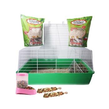 Kit Basico Mediano Para Conejos y Cuy