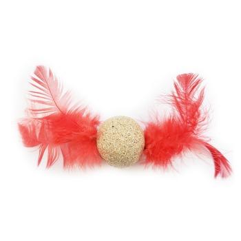 Wonder Cat Juguete pelota con plumas