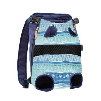 Mochila Canguro Diseño Indian Blue