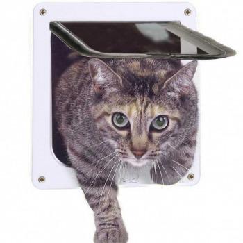 Puertas Abatibles para Gato y Perros Pequeños