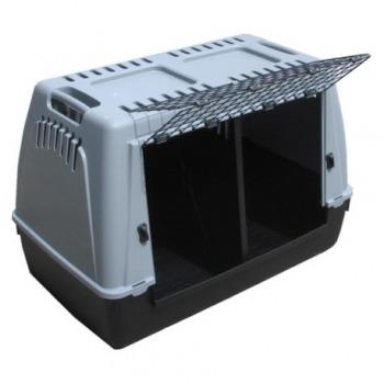 Transportadora Bracco Eco 100 con división para 2 Perros