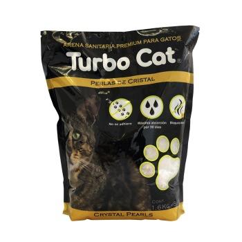 Top K9 Arena Turbo Cat Cristal Perlas Sanitarias