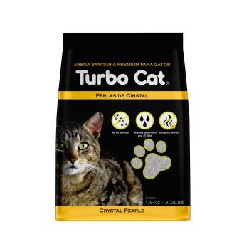 Top K9 Arena Turbo Cat Cristal Perlas Sanitarias 1.6 KG