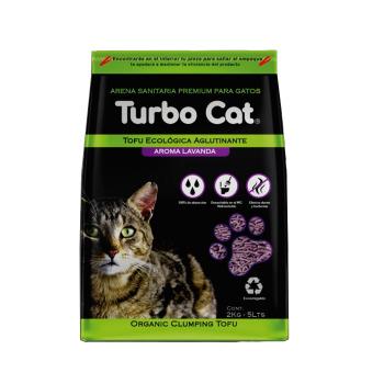 Top K9 Turbo Cat Tofu Lavanda