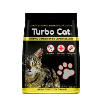 Top k9 Arena Turbo Cat Cristal Detección de Enfermedades 1.6KG
