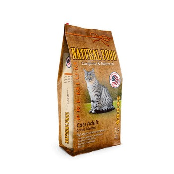 Natural Food Gatos Adulto Premium
