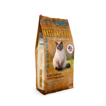 Natural Food Gatos Indoor Premium