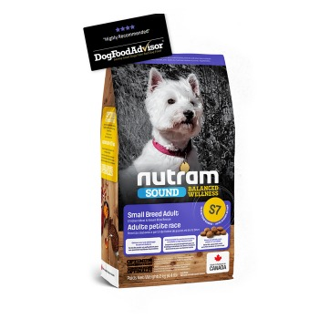 Nutram Sound Balanced Wellness Small Adult Dog S7
