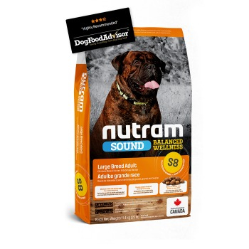 Nutram Sound Balanced Wellness Large Breed Adult S8