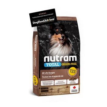 Nutram Total Grain-Free Chicken & Turkey Dog T23