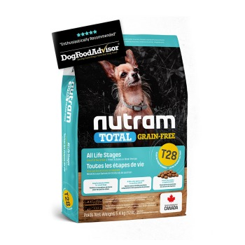 Nutram Total Grain-Free Small Breed Trout & Salmon Meal T28