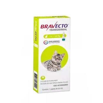 Bravecto Gato Pipeta 1.2 - 2.8 Kg