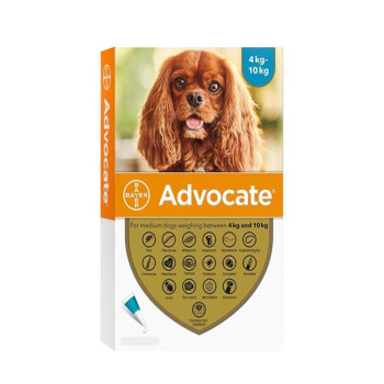 Advocate Pipeta Antipulga Para perros de 4 a 10KG