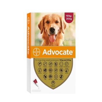 Advocate Pipeta Antipulga Para perros de 10 a 25KG